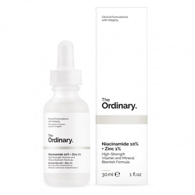 Сыворотка с Ниацинамидом и Цинком The Ordinary Niacinamide 10% + Zinc 1% 30 мл