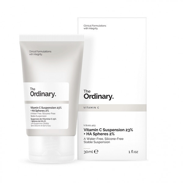 Сыворотка 23% Витамин C и 2% Гиалуроновая Кислота The Ordinary Vitamin C Suspension 23% + 2% HA Spheres 30 мл