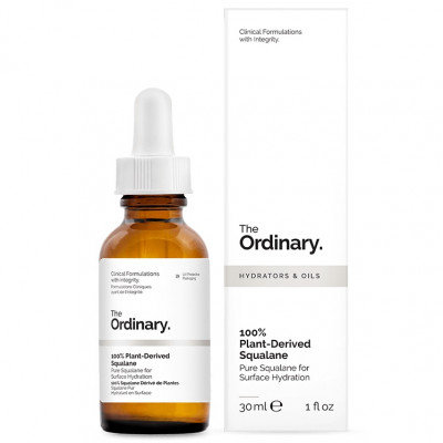 Сквалановое Масло 100% Натуральности The Ordinary 100% Plant-Derived Squalane 30 мл