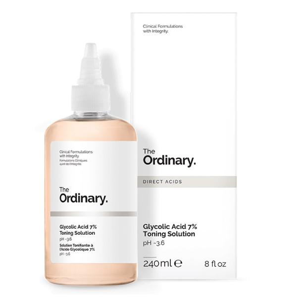 Тоник с 7% Гликолевой Кислотой The Ordinary Glycolic Acid 7% Toning Solution 240 мл