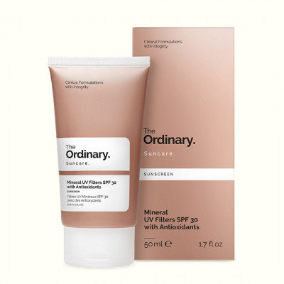 Солнцезащитный Крем с Антиоксидантами SPF 30 The Ordinary Mineral UV Filters with Antioxidants 50 мл