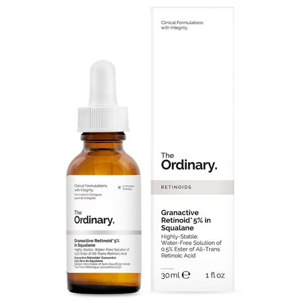 Масляная Сыворотка на Основе Ретиноидов 5% The Ordinary Granactive Retinoid 5% in Squalane 30 мл