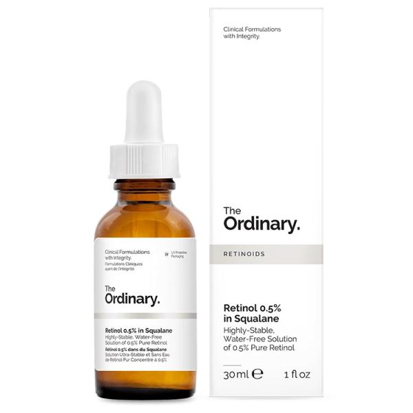 Масляная Сыворотка Ретинол 0.5% The Ordinary Retinol 0.5% In Squalane 30 мл