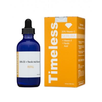 Сыворотка с Витаминами С,Е и Феруловой Кислотой Timeless Skin Care 20% Vitamin C + E Ferulic Acid Serum 120 мл