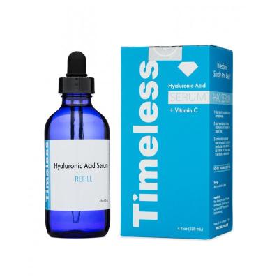 Сыворотка с Гиалуроновой Кислотой и Витамином C 5% Timeless Skin Care Hyaluronic Acid + Vitamin C Serum 120 мл