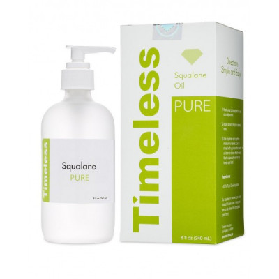 Сквален (Сквалан) Натуральное Масло Timeless Skin Care Squalane 100% Pure 240 мл