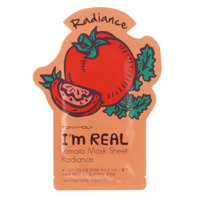 Тканевая Маска Tony Moly с Экстрактом Томата I'm REAL Mask Tomato Sheet 21 мл