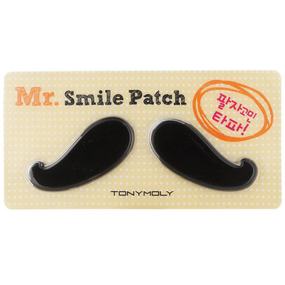 Гидрогелевые Патчи Tony Moly для Носогубной Зоны Mr. Smile Line Patch