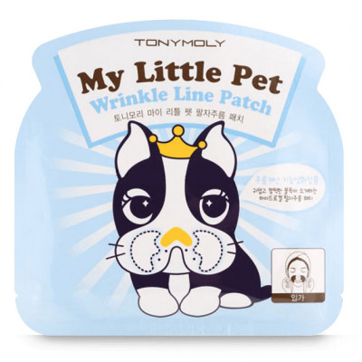 Гидрогелевые Патчи Tony Moly для Носогубных Складок My Little Pet Wrinkle Line Patch 5 г