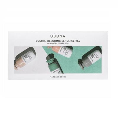 Набор из 4-х Мини-Сывороток UBUNA Discovery Collection 4x10 мл