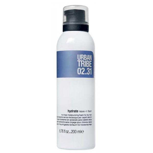 Увлажняющая Пена для Сухих Волос Urban Tribe 02.31 Hydrate Leave-In Foam 200 мл