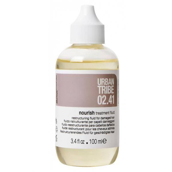 Концентрированный Восстанавливающий Флюид для Сухих и Поврежденных Волос Urban Tribe 02.41 Nourish Treatment Fluid 100 мл