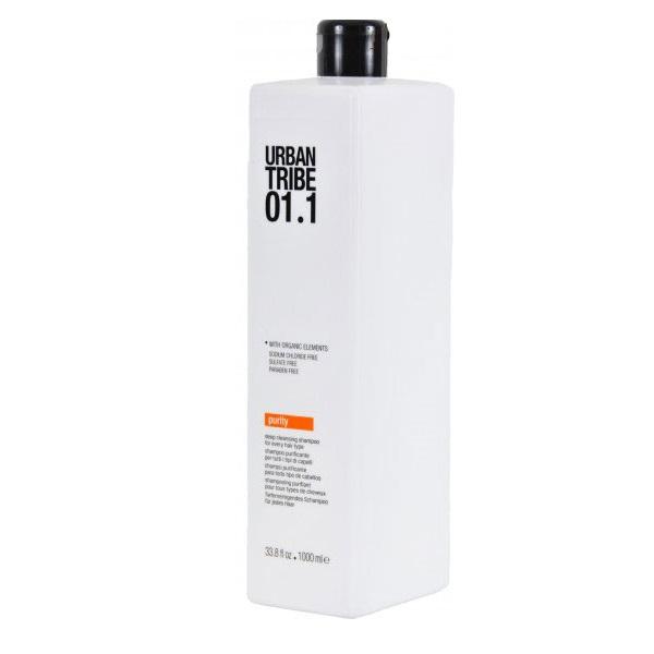 Очищающий Шампунь Urban Tribe 01.1 Shampoo Purity 1000 мл