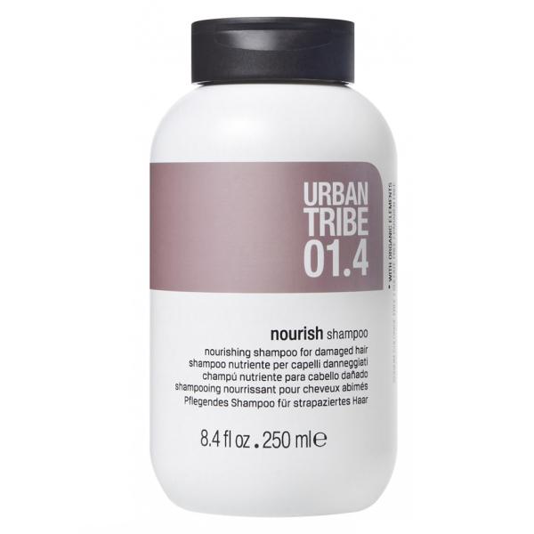 Питательный Шампунь для Поврежденных Волос Urban Tribe 01.4 Shampoo Nourish 250 мл