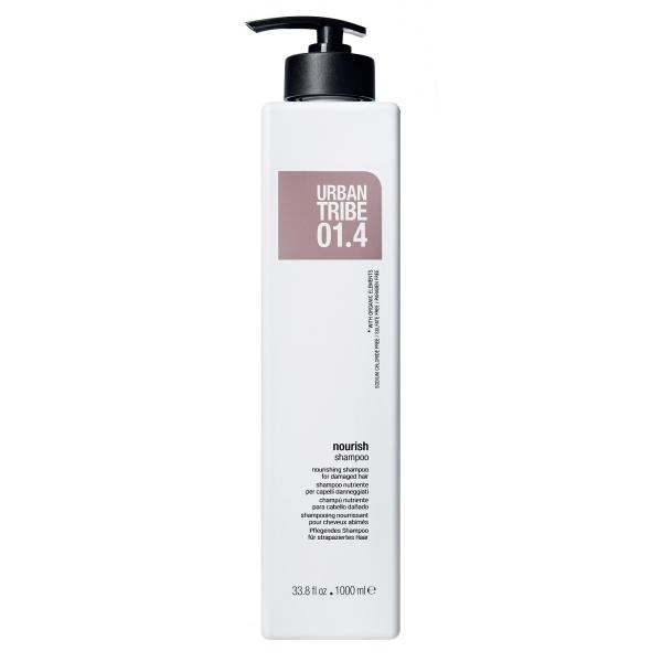 Питательный Шампунь для Поврежденных Волос Urban Tribe 01.4 Shampoo Nourish 1000 мл