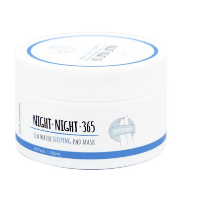Спонжи для Ночного Ухода Wish Formula Night Night 365 Sea Water Sleeping Pad Mask 120 мл