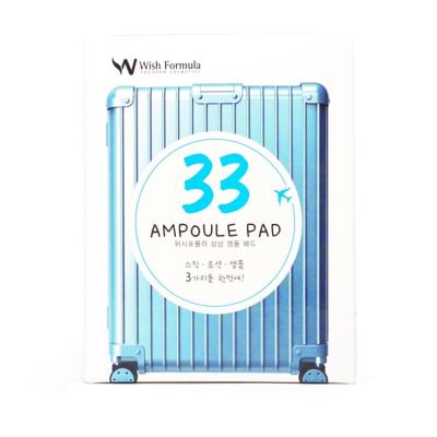 Спонж-Пилинг Очищающий 3 в 1 Wish Formula 33 Ampoule Pad 10x7 мл