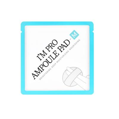 Спонж-Салфетка с Муцином Улитки Питательная Wish Formula I'm Pro Ampoule Pad-M 1х7 мл