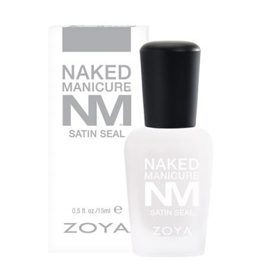 Топовое Матовое Покрытие ZOYA NAKED Satin Seal Top Coat 15 мл