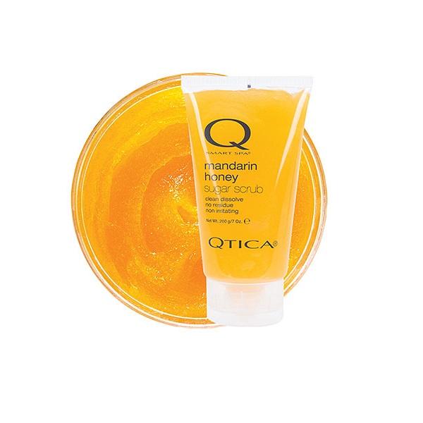 Сахарный Скраб для Рук и Ног Мандарин Qtica Mandarin Honey Sugar Scrub 200 г
