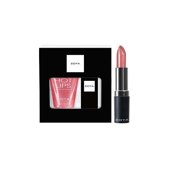 Подарочный Набор (Блеск для Губ Anonymous, Губная Помада Candace) ZOYA Fun & Frosty Gloss & Lipstick Duo