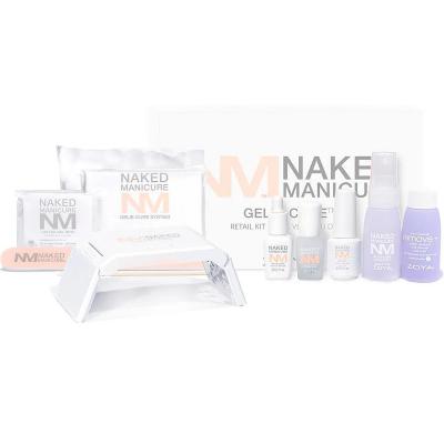 Дорожный Набор ZOYA The Naked Manicure Gelie Cure Travel Kit