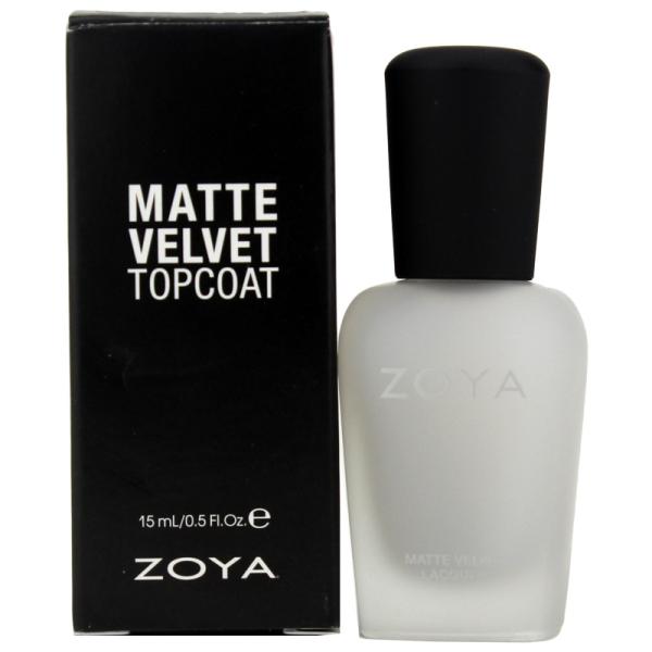 Матовое Покрытие для Лака ZOYA Matte Velvet Top Coat 15 мл
