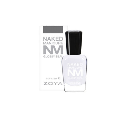 Закрепляющие Покрытие Глянец ZOYA Naked Manicure Glossy Seal 15 мл
