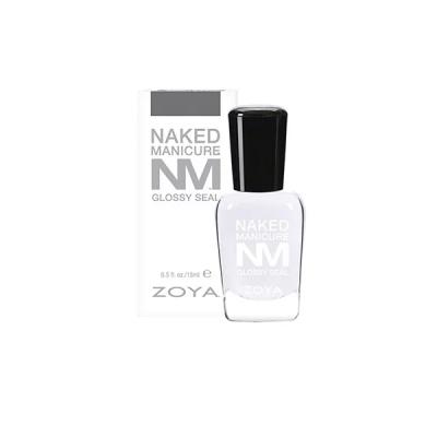 Закрепляющие Покрытие Глянец ZOYA Naked Manicure Glossy Seal Mini 7.5 мл