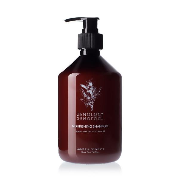 Питательный Шампунь для Волос Zenology Nourishing Shampoo Black Tea 500 мл