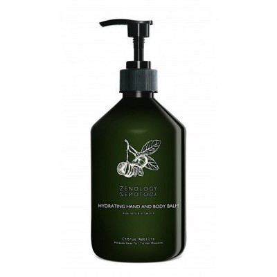 Бальзам для Рук и Тела Зеленый Чай Zenology Hydrating Hand&Body Balm Mandarin Green Tea 500 мл