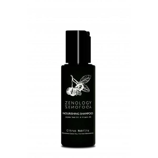 Питательный Шампунь для Волос Zenology Nourishing Shampoo Mandarin Green Tea 50 мл