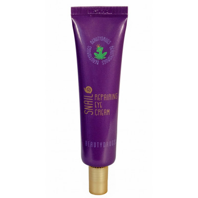 Восстанавливающий Крем для Глаз с Экстрактом Улиточной Слизи Beautydrugs Snail Repairing Cream 30 г
