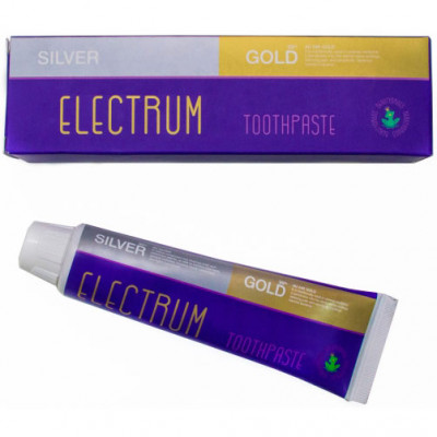 Зубная Паста Beautydrugs Electrum Gold Silver Toothpaste