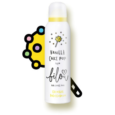 Пенка для Душа Bilou Vanilla Cake Pop Shower Foam 200 мл