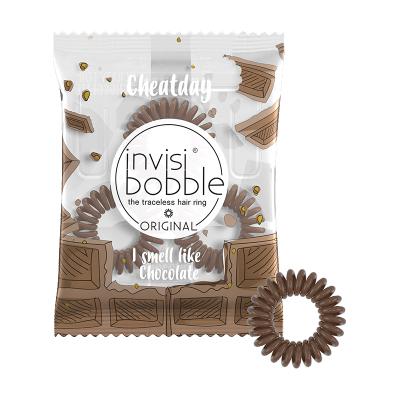 Резинка-Браслет для Волос с Ароматом Шоколада Invisibobble ORIGINAL Crazy For Chocolate (3 шт.)