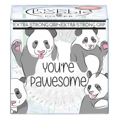 Резинки-Браслет для Волос Invisibobble POWER You're Pawesome! Экстра-Сильной Фиксации (3 шт.)