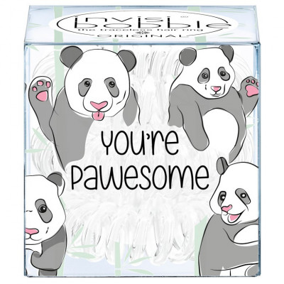 Резинка-Браслет для Волос Invisibobble ORIGINAL You're Pawesome! (3 шт.)