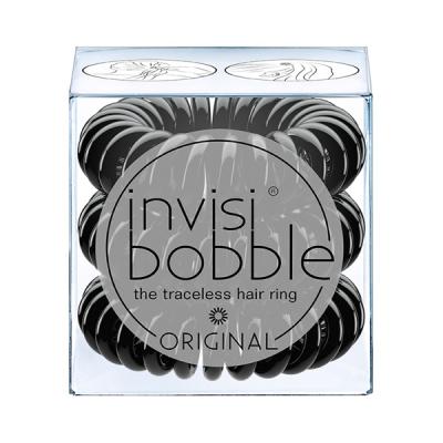 Резинки-Браслет для Волос Invisibobble ORIGINAL True Black (3 шт.)