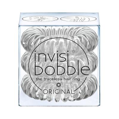 Резинки-Браслет для Волос Invisibobble ORIGINAL Crystal Clear (3 шт.)