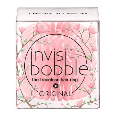 Резинки-Браслет для Волос Invisibobble ORIGINAL Secret Garden Cherry Blossom (3 шт.)
