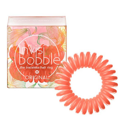 Резинки-Браслет для Волос Invisibobble ORIGINAL Secret Garden Sweet Clementine (3 шт.)