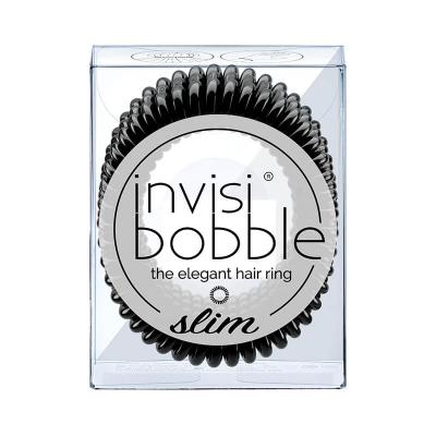 Резинка-Браслет для Волос Invisibobble SLIM True Black (3 шт.)