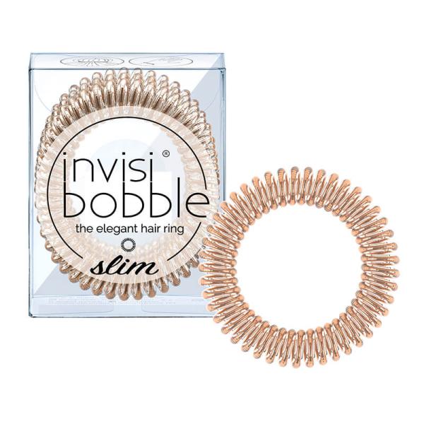 Резинка-Браслет для Волос Invisibobble SLIM Bronze Me Pretty (3 шт.)