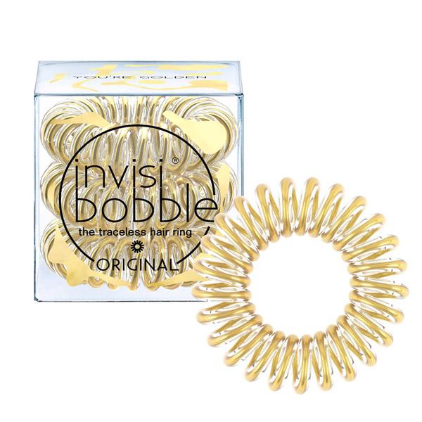 Резинки-Браслет для Волос Invisibobble Time to Shine You're Golden  (3 шт.)