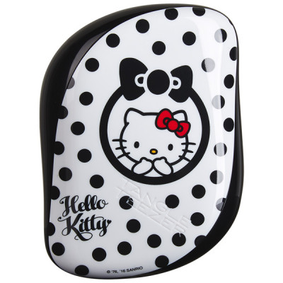 Расческа Tangle Teezer Compact Styler Hello Kitty Black