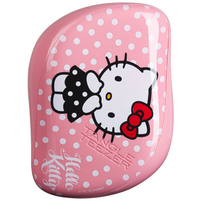 Расческа Tangle Teezer Compact Styler Hello Kitty Pink