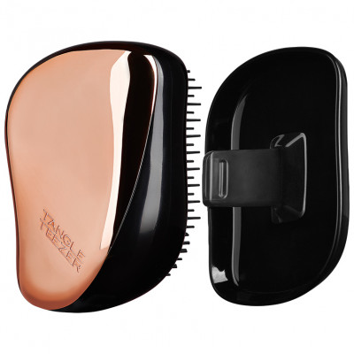Расчёска Tangle Teezer Compact Styler Rose Gold Black