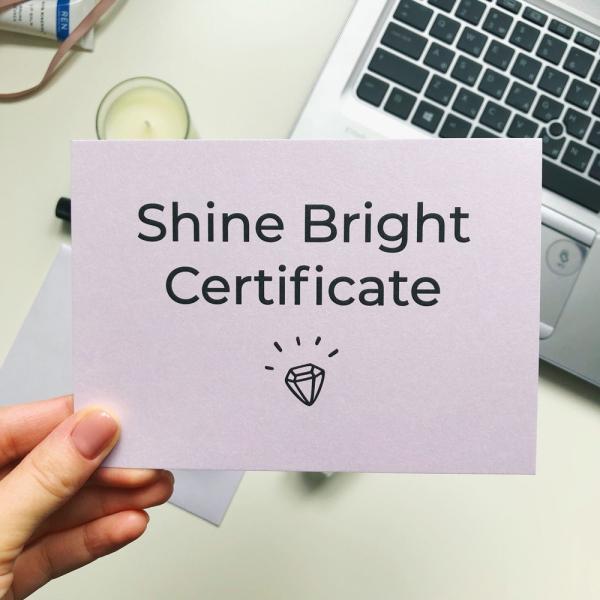 Подарочный Сертификат на Сумму 5000 грн