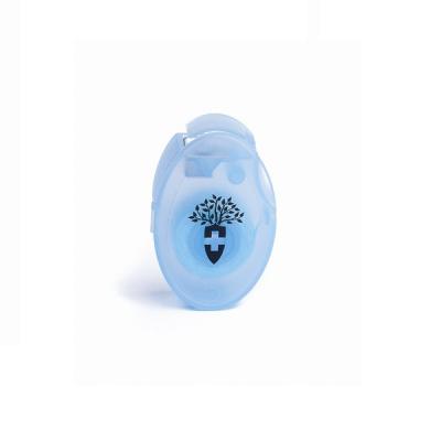 Шелковая Лента для Зубов Светло Голубой Montcarotte Light Blue Silk Tooth Ribbon 10 м